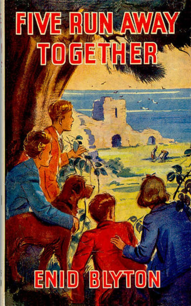 Famous Five 3: Five Run Away Together by Enid Blyton