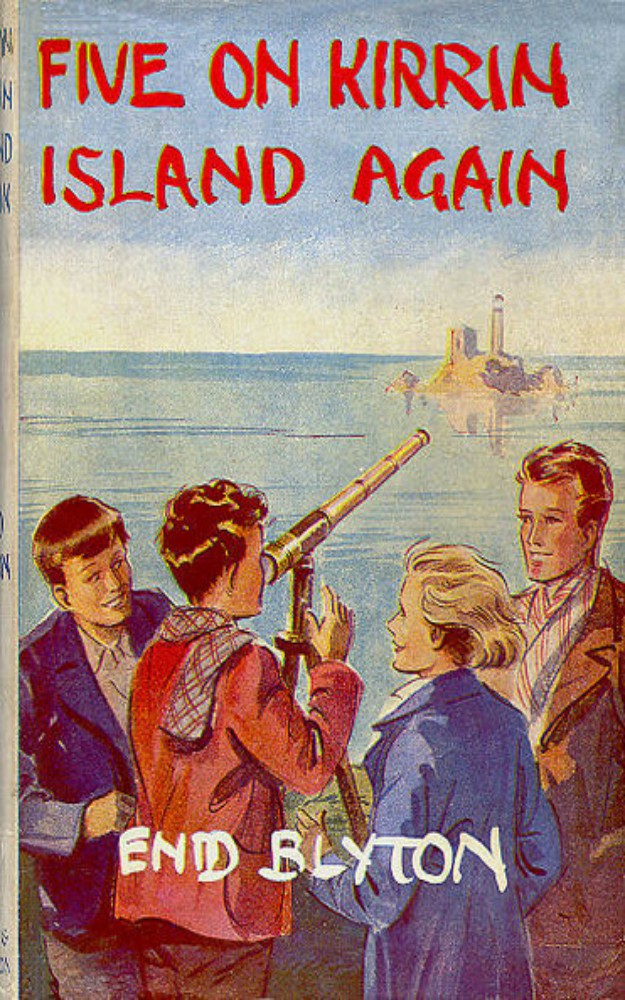 Famous Five 6: Five on Kirrin Island Again by Enid Blyton