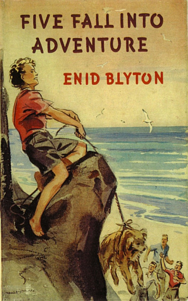 Famous Five 9: Five Fall into Adventure by Enid Blyton