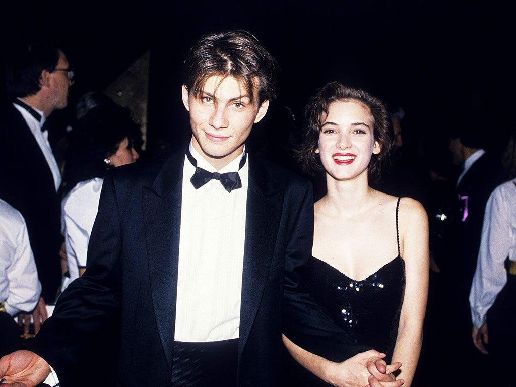 No one is as cool as Christian Slater and Winona Ryder. Even in 2014.