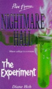 Diane Hoh Nightmare Hall 8 The Experiment