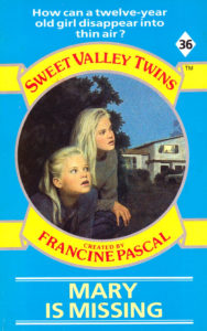 Sweet Valley Twins 36 Mary is Missing by Francine Pascal