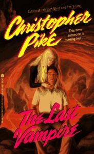 Cover of The Last Vampire by Christopher Pike