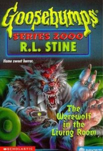 cover of Werewolf in the Living Room by R L Stine