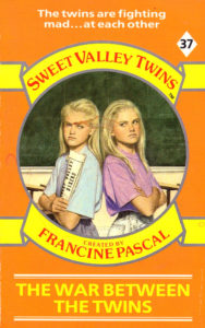Sweet Valley Twins 37: The War Between the Twins by Jamie Suzanne