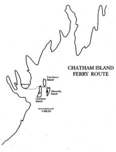 Chatham Island Ferry Routes (Making Out #3: Nina Won't Tell)