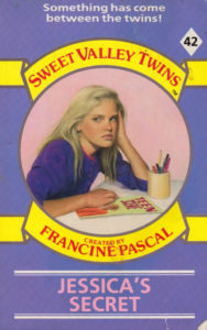 Sweet Valley Twins 42: Jessica's Secret by Jamie Suzanne (Katherine Applegate and Michael Grant)