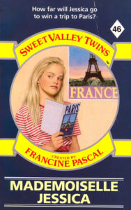 Sweet Valley Twins 46 Mademoiselle Jessica by Francine Pascal