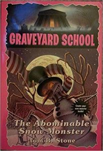 Graveyard School - Abominable Snow Monster by Tom B Stone
