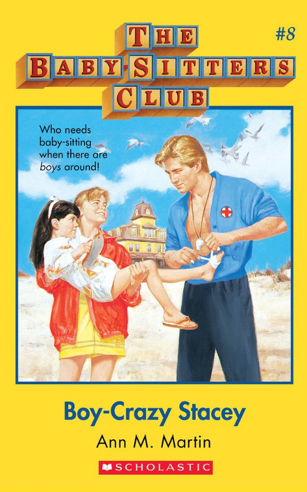 The Baby-Sitters Club #8: Boy-Crazy Stacey by Ann M Martin