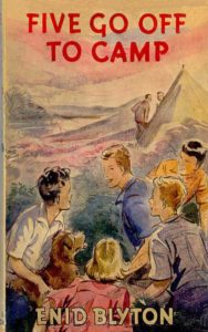 Famous Five #7: Five Go Off to Camp by Enid Blyton