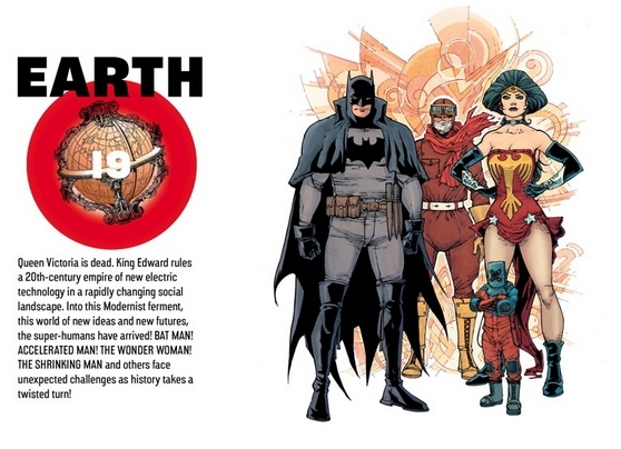 The Multiversity Guidebook #1: Earth-19