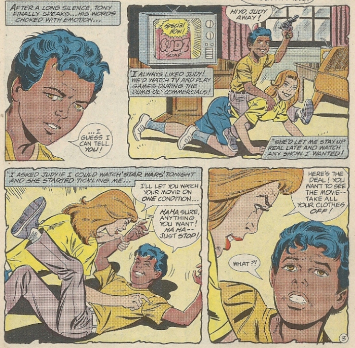 Spider-Man and Power Pack - Tony and Jane