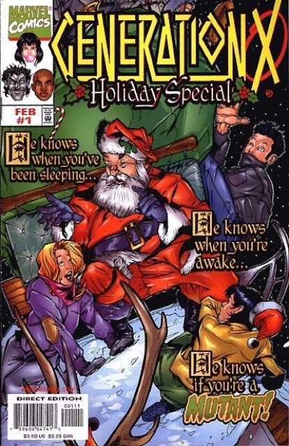Generation X Holiday Special Cover by Adam Pollina