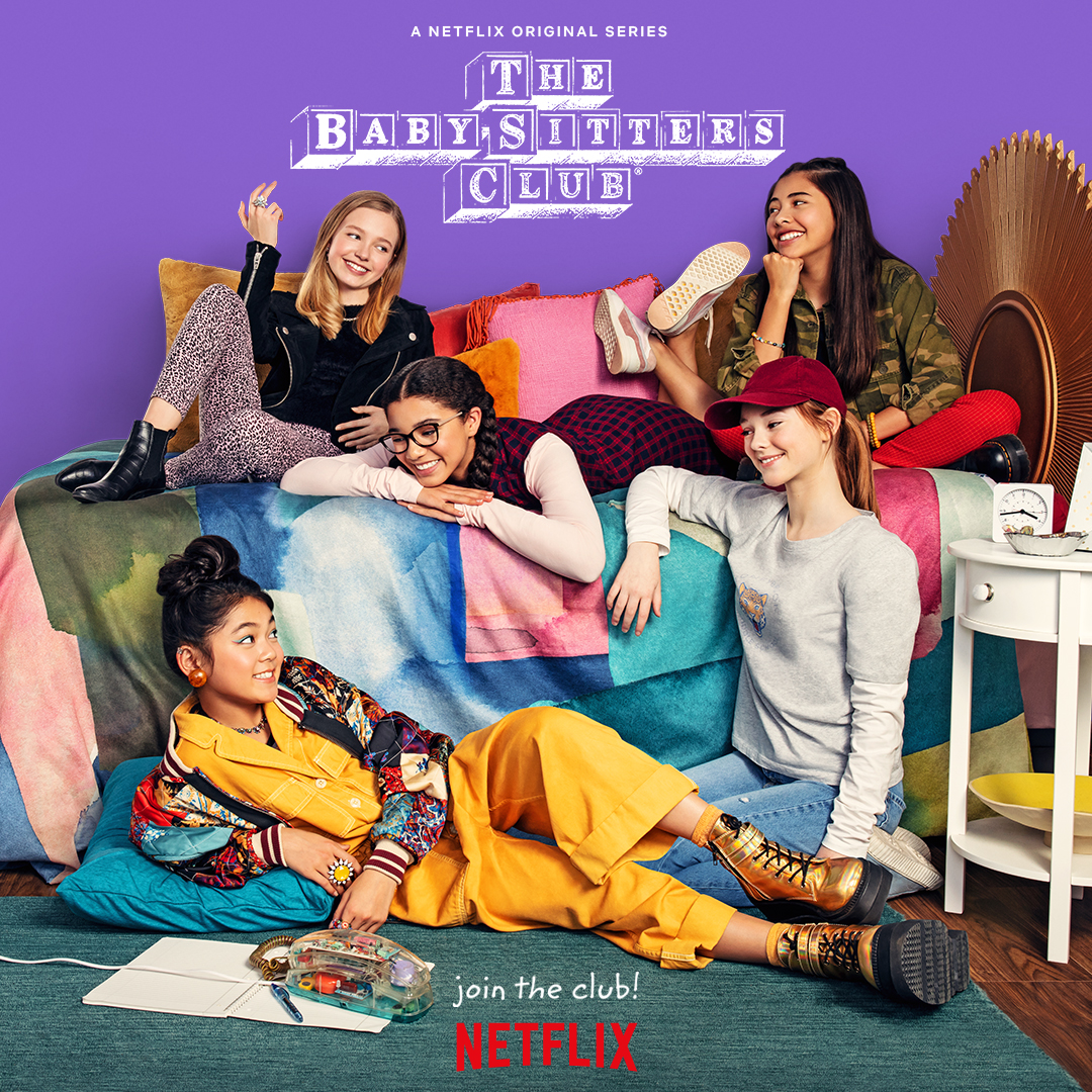 Baby-Sitters Club 2020 tv show title image